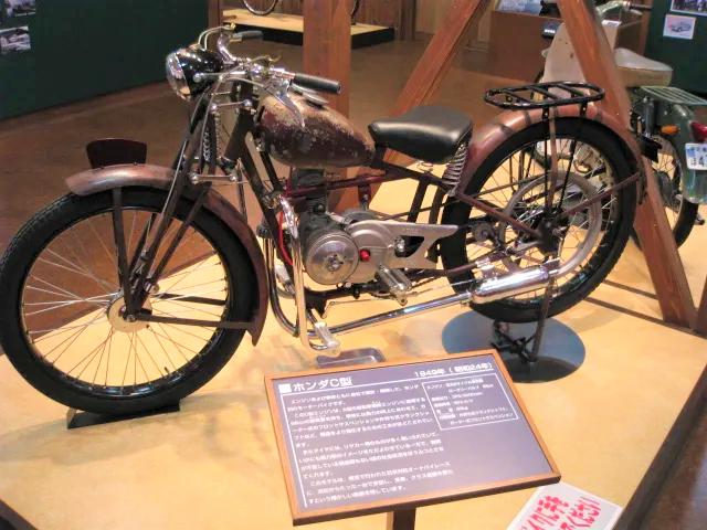 HONDAのモーターバイク