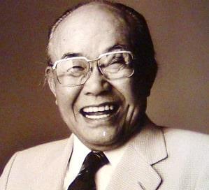 本田宗一郎の顔写真
