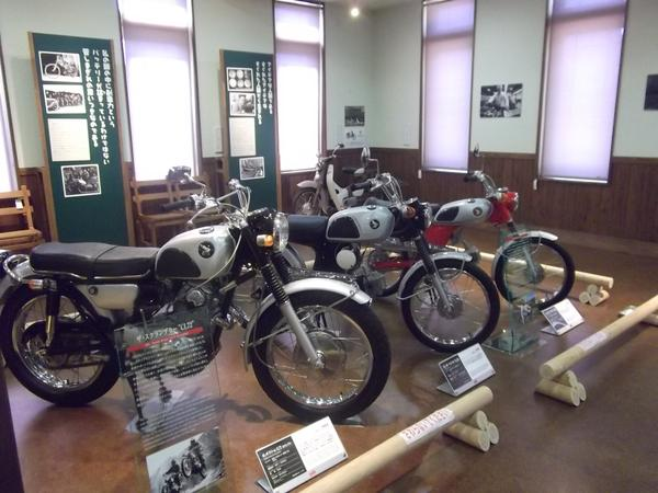 HONDAの歴代のモーターバイク